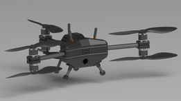 Y6 coaxial tricopter