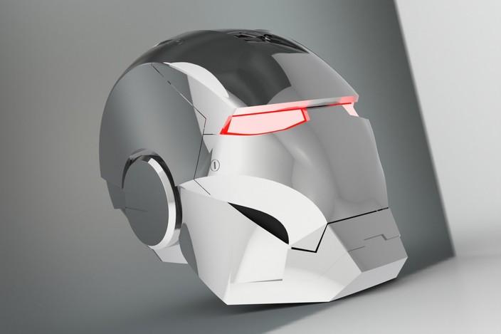 Tutorial Helmet Iron Man Iron Man Helmet