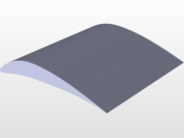 Parametric NACA-4 Airfoil   3D CAD Model Library   GrabCAD