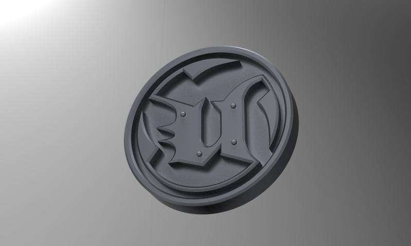 Unreal Tournament logo | 3D CAD Model Library | GrabCAD