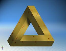 Неправильный треугольник. Irregular triangle