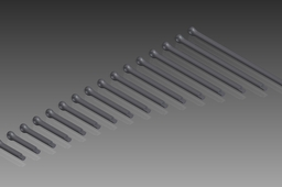 DIN 94 Split Pins (Cotter Pins). Nom. Diameter 5mm