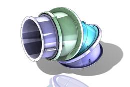 F35-B RC Rear reactor nozzle