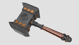 Epic Weapon Series : Warcraft Doomhammer