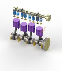4 STROKE I.C. ENGINE