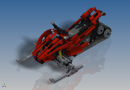 LEGO Technic - Snowmobile (8272)