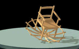 Chaise sphérique / Spheric rockinchair / Rockin Roll chair!