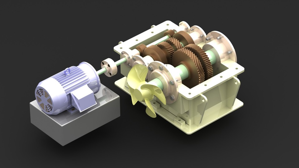 gearbox 3d cad model library grabcad rh grabcad com Dual-Clutch Transmission 6-Speed Manual Transmission