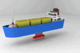 Lego 315 Container Transport Ship