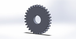 Tabla de Diseño para Engranes Rectos ISO en SolidWorks (Gears-Design Table SolidWorks)
