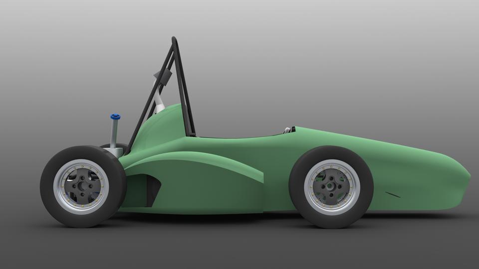 Fsae Car 3d Cad Model Grabcad
