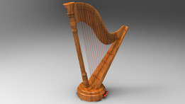 Harp Music instrument