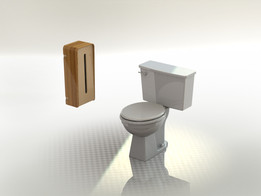 Toilet Paper Distributor