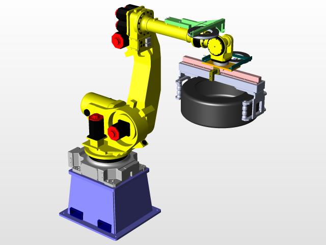 FANUC Robot - Recent models   3D CAD Model Collection   GrabCAD
