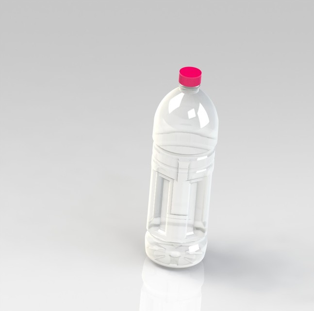 plastic bottle | 3D CAD Model Library | GrabCAD
