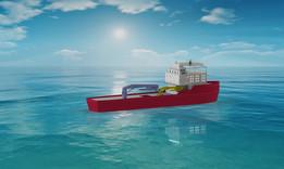 HOS ACHIVER Service Vessel