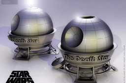 Death Star Oil Candle