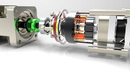 Detailed dimensional drawings vane pump (proe design)