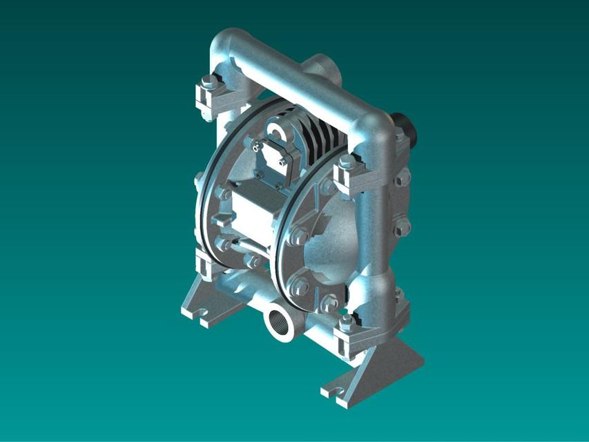 Versamatic diaphragm pump 3d cad model library grabcad ccuart Images