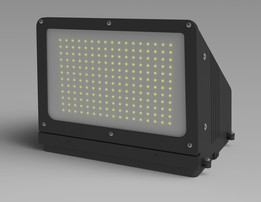 90 Watt Traditional LED Wall Washer - Replaces 400 Watt Metal Halide Fixtures - 120-277V AC - IP65