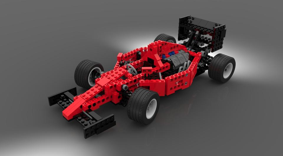 lego technic 8440 formula indy racecar 1995 solidworks step iges 3d cad model grabcad. Black Bedroom Furniture Sets. Home Design Ideas