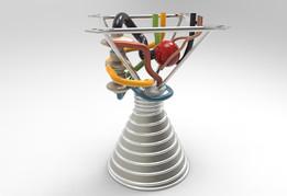 Rocket engine - STEP / IGES - Recent models | 3D CAD Model