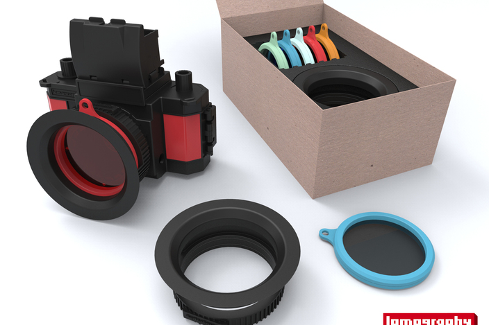 Lomography DIY filter kit