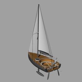6.5m sailboat design