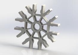 Knex Connector - White