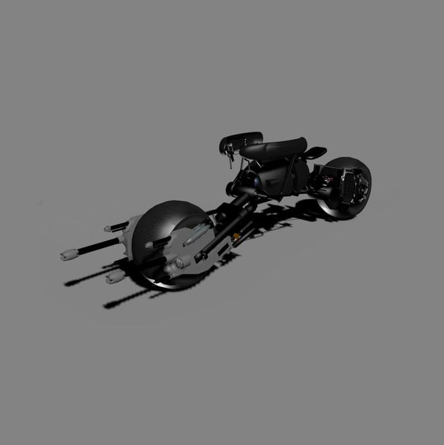 Batpod Autodesk 3ds Max 3d Cad Model Grabcad