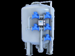 Steel automatic pressure filter