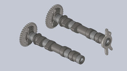 Camshaft (Alberi a camme) Honda Silver Wing