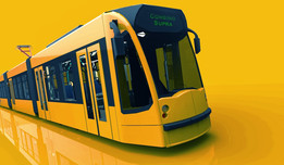 Siemens Combino Supra tram