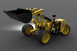 LEGO Technic #42004 Telehandler (2013)
