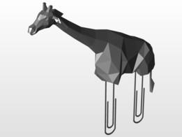 Giraffe Paper Clip