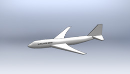 Boeing 747 (Half Completed)