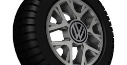 RODA VW CROSS UP!