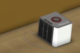 air purifier with light