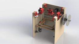 Model of a RepRap 3D Printer