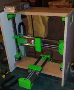 3D printer based on HIWIN 15