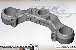 Yamaha TRX 850 lower yoke