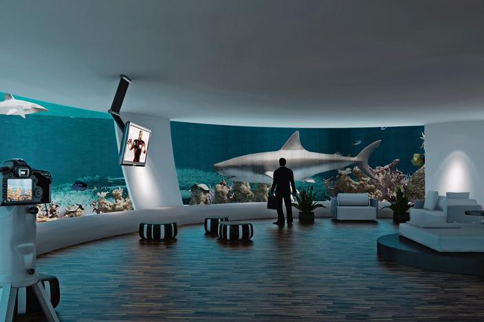 Underwater Home 3D CAD Model GrabCAD