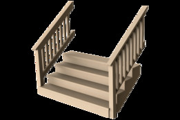 Porch / Deck Stairs (Configurable)
