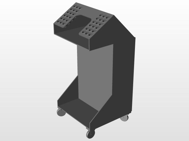 Boat Building Cart | 3D CAD Model Library | GrabCAD