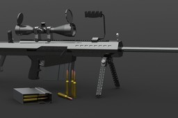 Barrett M107 .50-Caliber Sniper Rifle