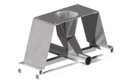 Steel Hopper and sheet metalwork - TopSolid 7