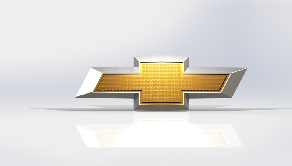 Chevrolet logo | 3D CAD Model Library | GrabCAD