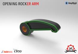 Motor Cycle Engine Internal Setup - Desmodromic Valve System-Opening Rocker Arm