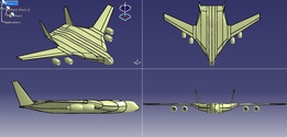 Blended Wing Body- Aircraft