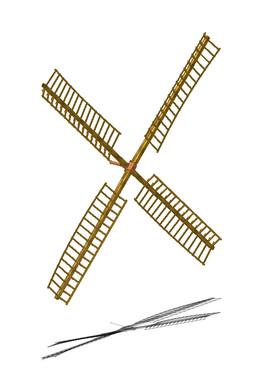 Windmühle Rutenkreuz 1